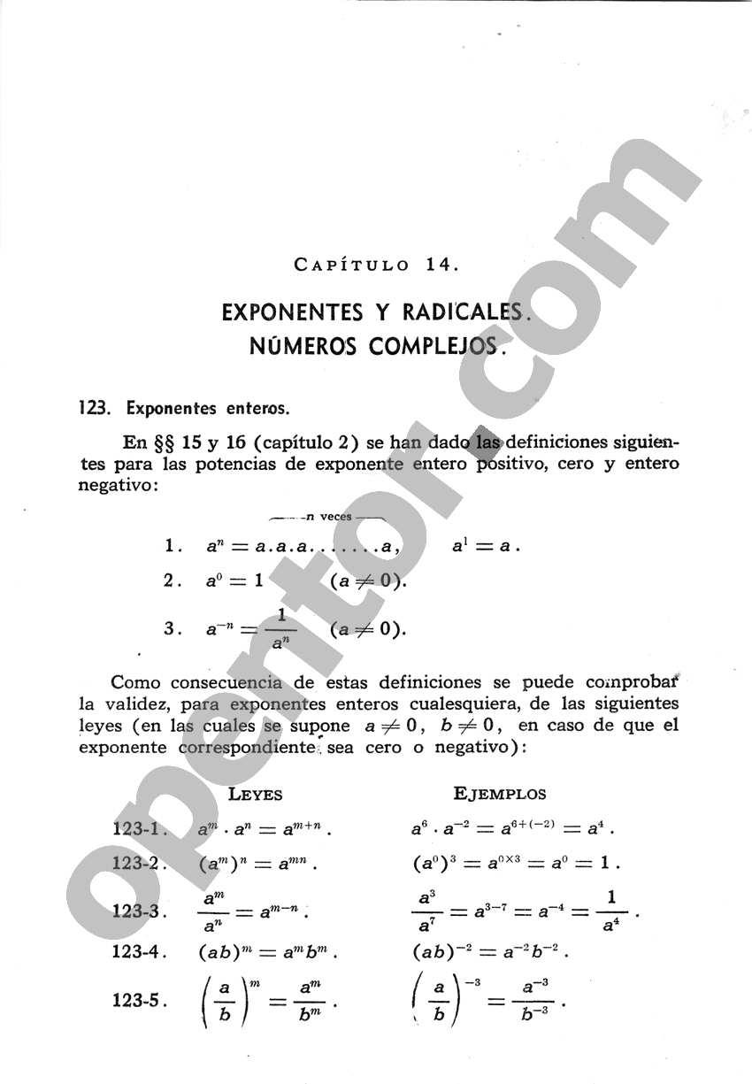 Álgebra de Mancil 2 - Página 1