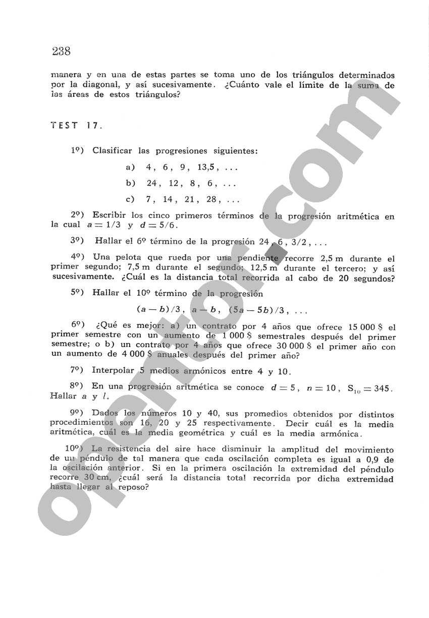 Álgebra de Mancil 2 - Página 238