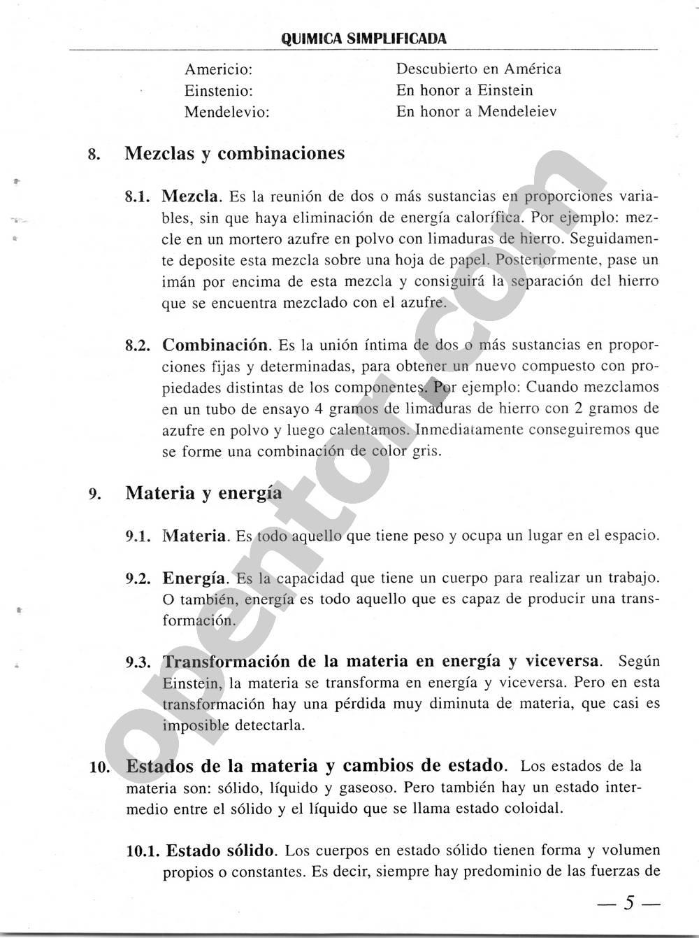 Química Simplificada de Diómedes Solano - Página 5