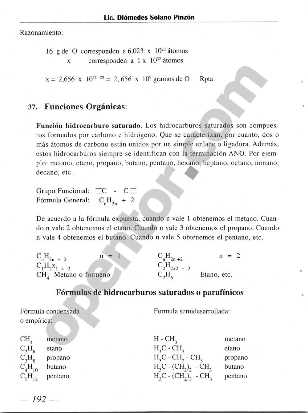 Química Simplificada de Diómedes Solano - Página 192