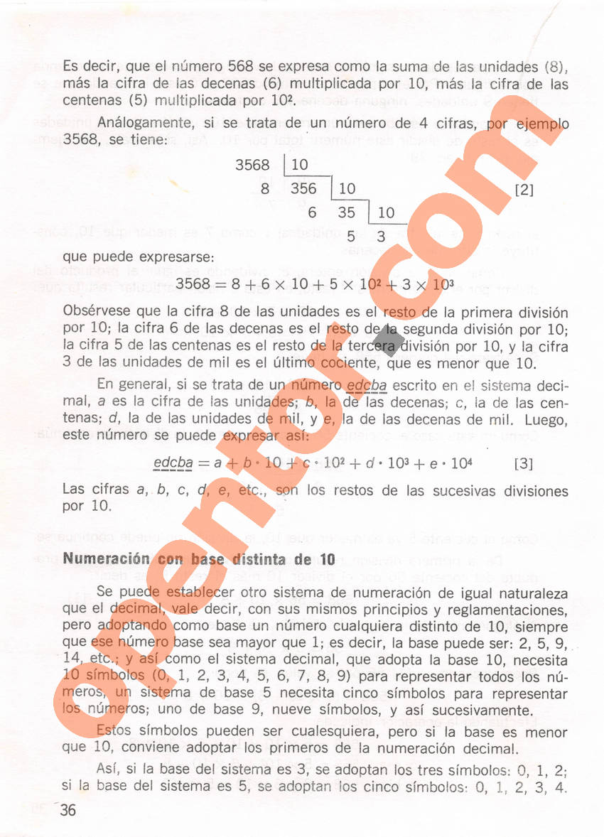 Aritmética de Repetto 1 - Página 36
