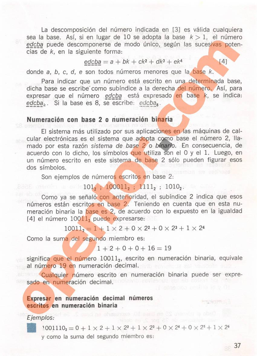 Aritmética de Repetto 1 - Página 37