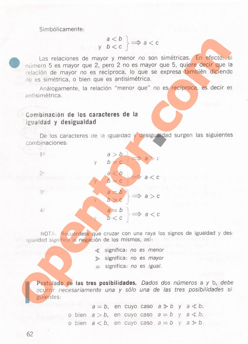 Aritmética de Repetto 1 - Página 62