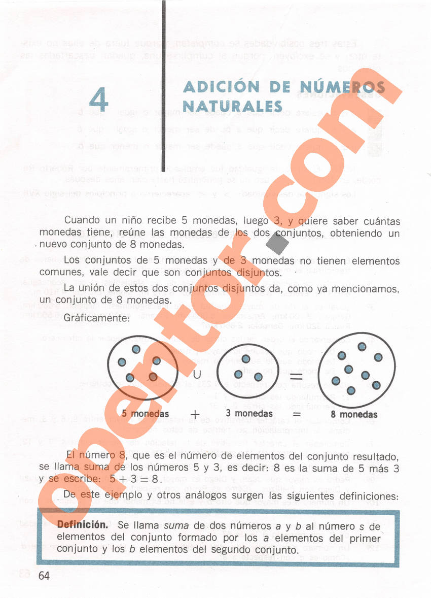 Aritmética de Repetto 1 - Página 64