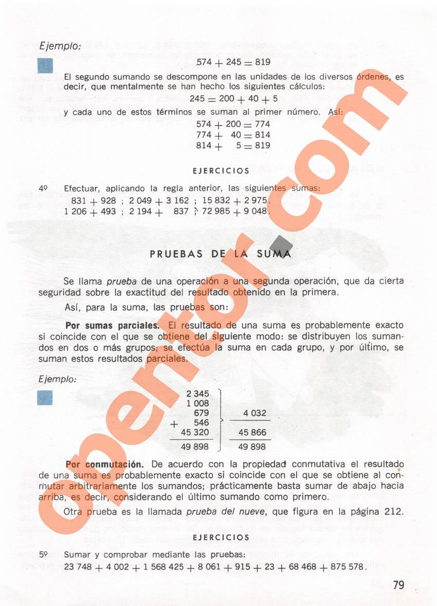 Aritmética de Repetto 1 - Página 79