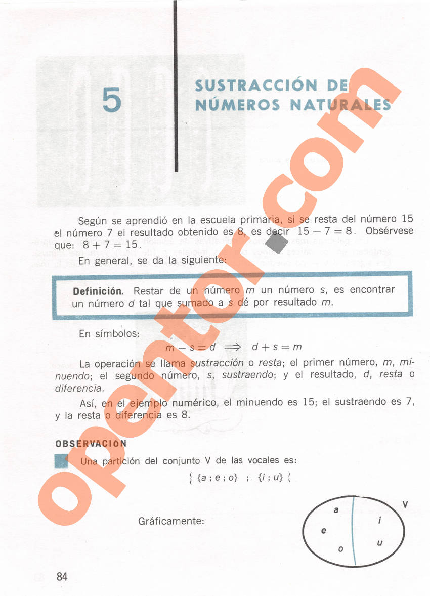 Aritmética de Repetto 1 - Página 84