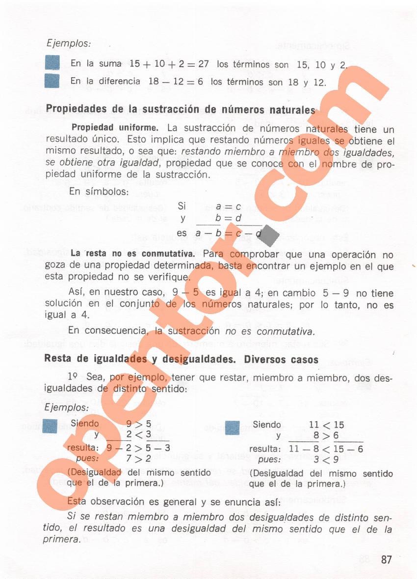 Aritmética de Repetto 1 - Página 87