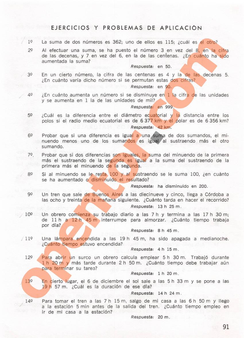 Aritmética de Repetto 1 - Página 91