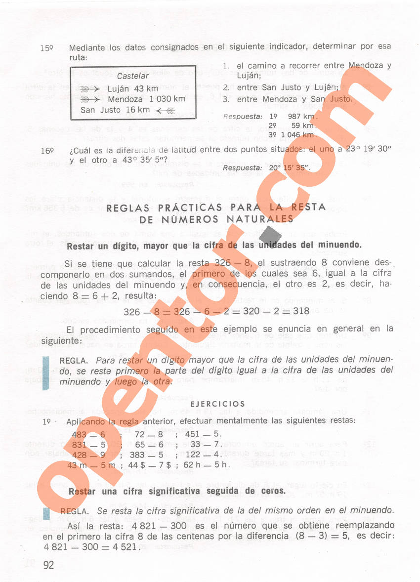 Aritmética de Repetto 1 - Página 92