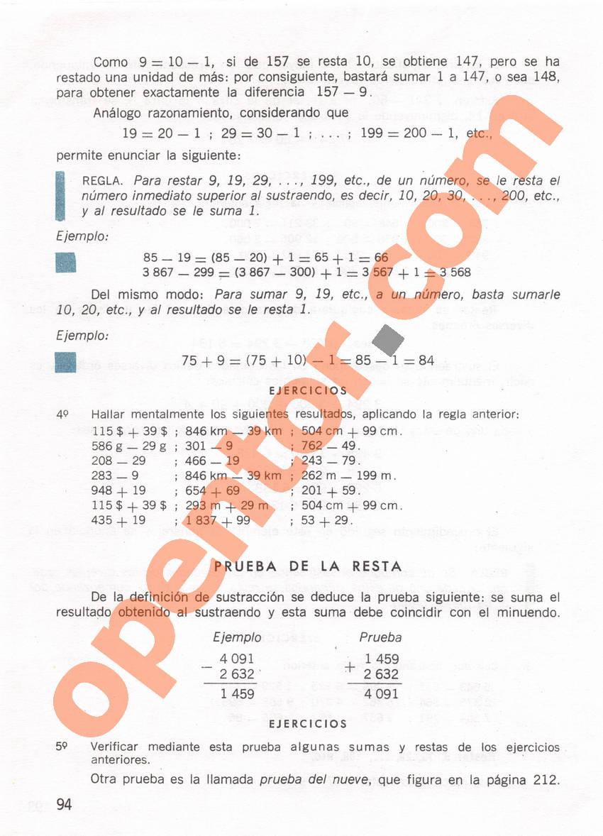 Aritmética de Repetto 1 - Página 94