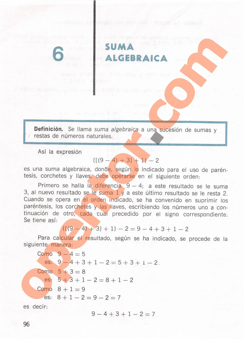 Aritmética de Repetto 1 - Página 96