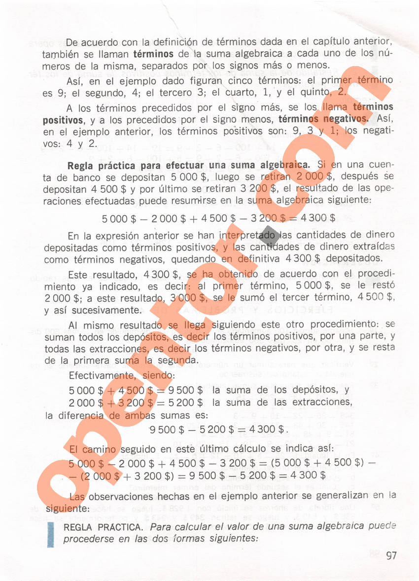 Aritmética de Repetto 1 - Página 97