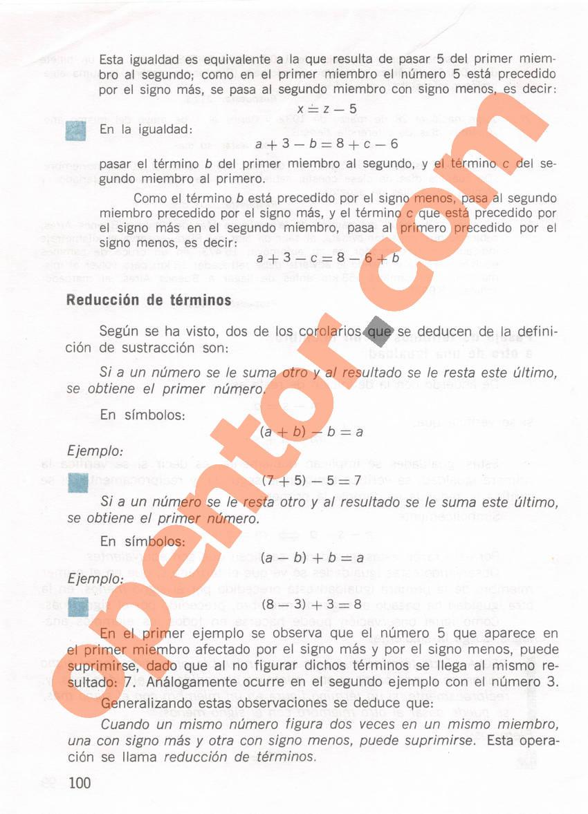 Aritmética de Repetto 1 - Página 100
