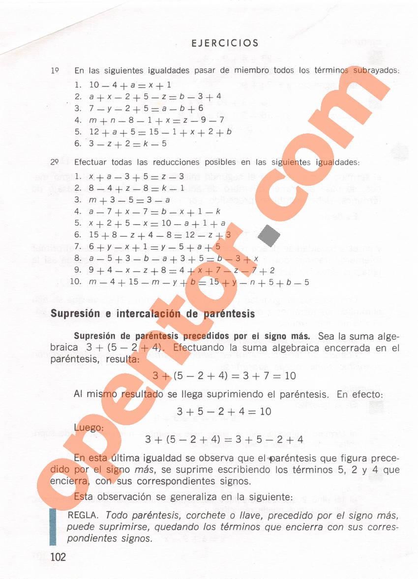 Aritmética de Repetto 1 - Página 102