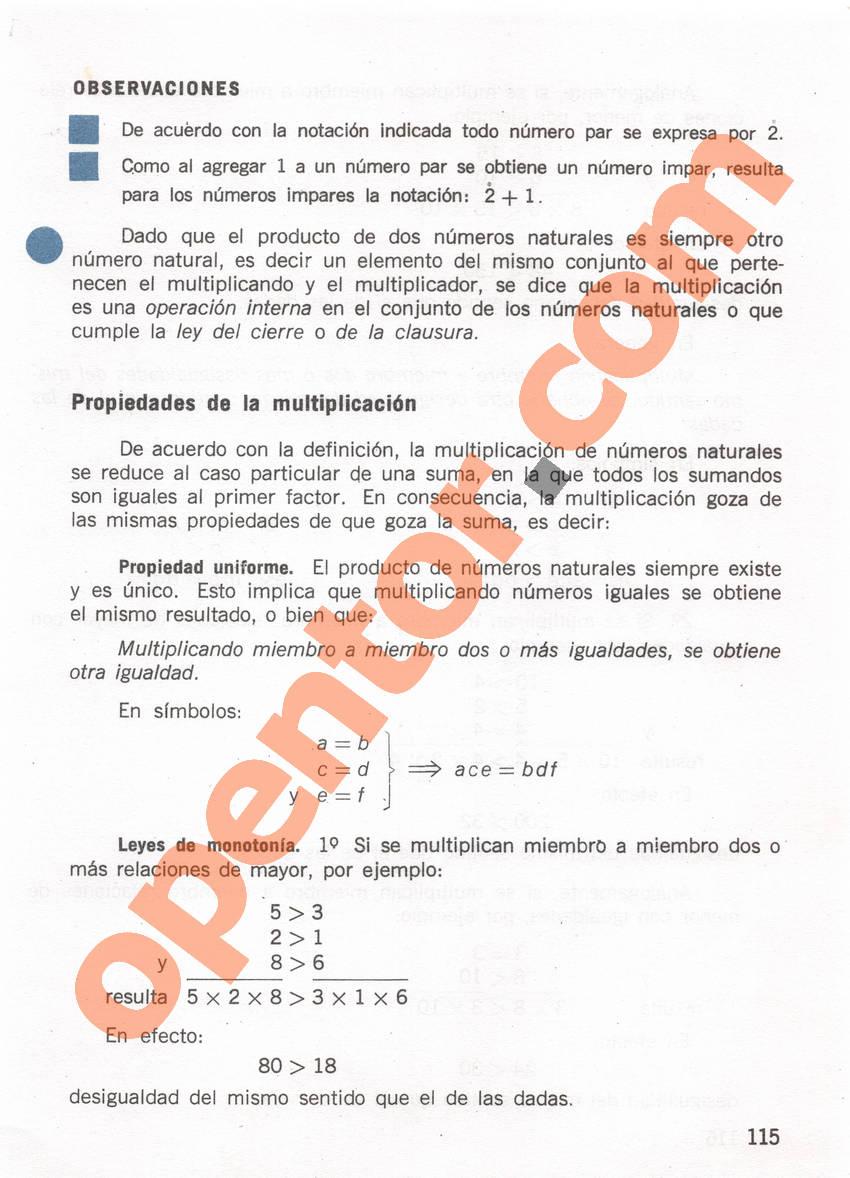 Aritmética de Repetto 1 - Página 115