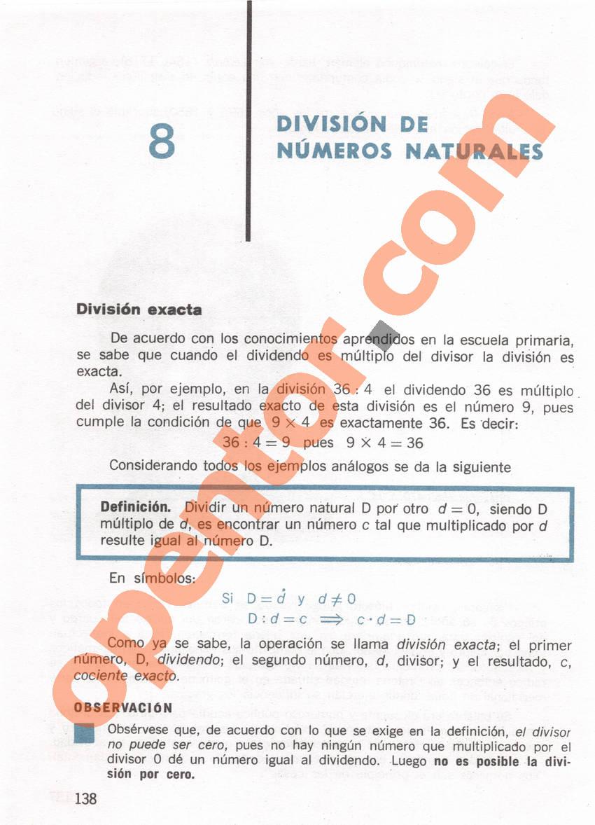 Aritmética de Repetto 1 - Página 138