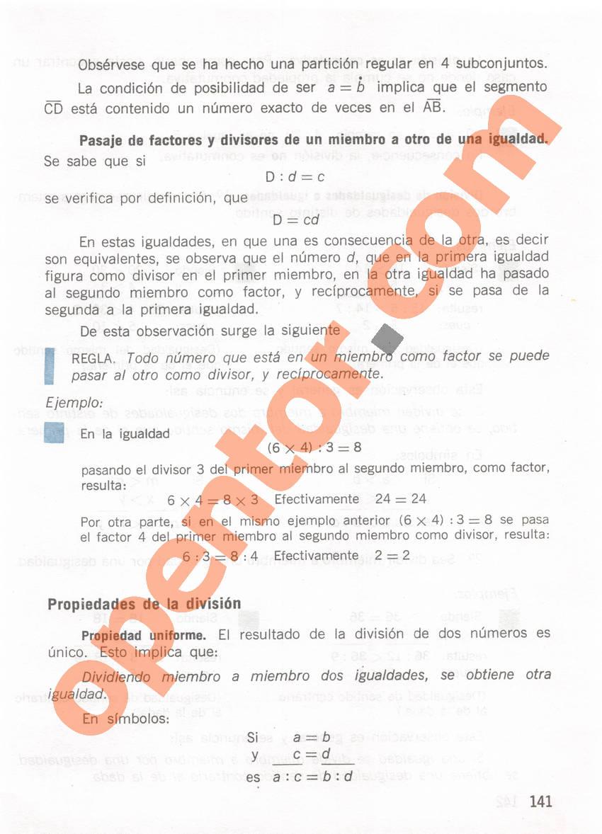 Aritmética de Repetto 1 - Página 141