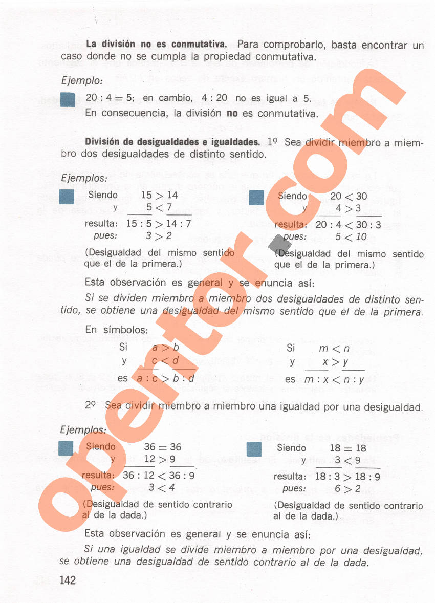 Aritmética de Repetto 1 - Página 142