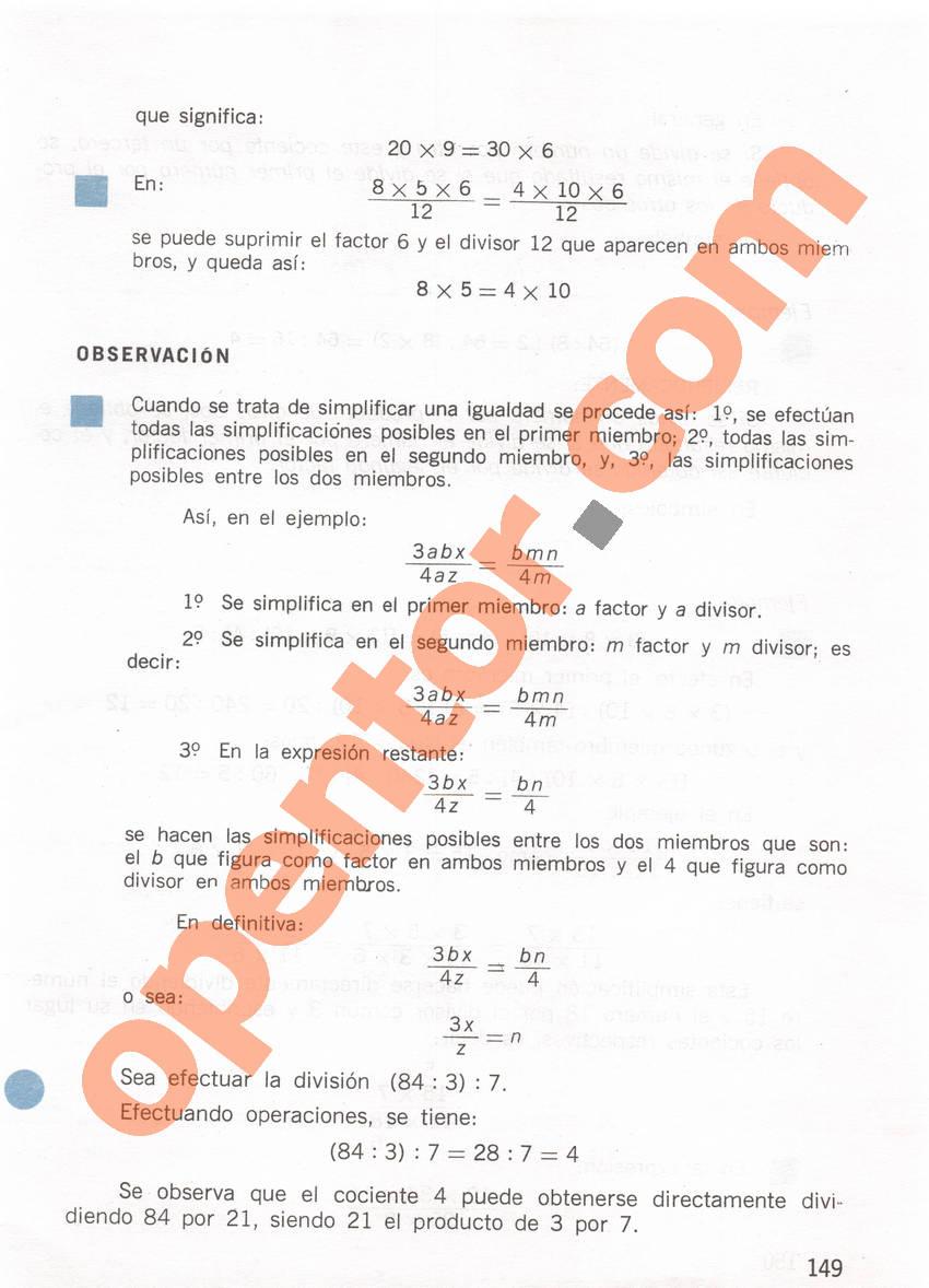 Aritmética de Repetto 1 - Página 149
