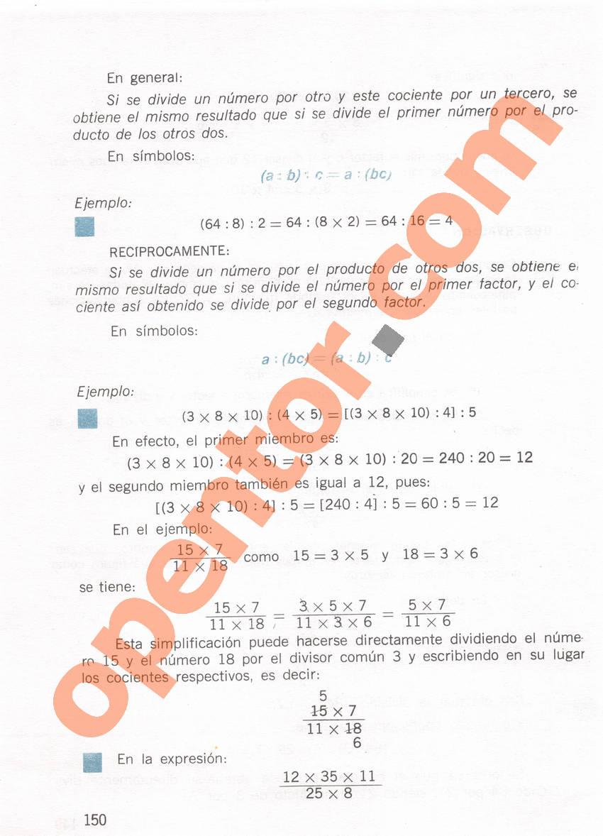 Aritmética de Repetto 1 - Página 150