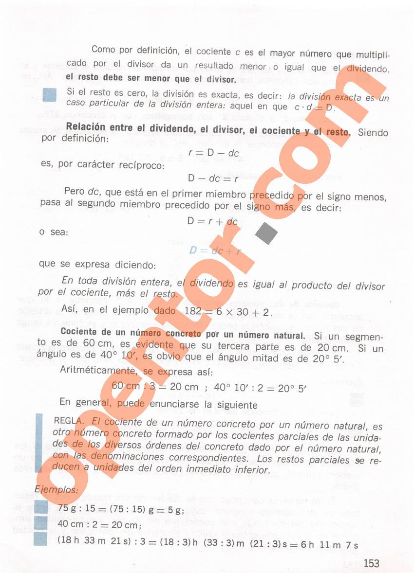 Aritmética de Repetto 1 - Página 153
