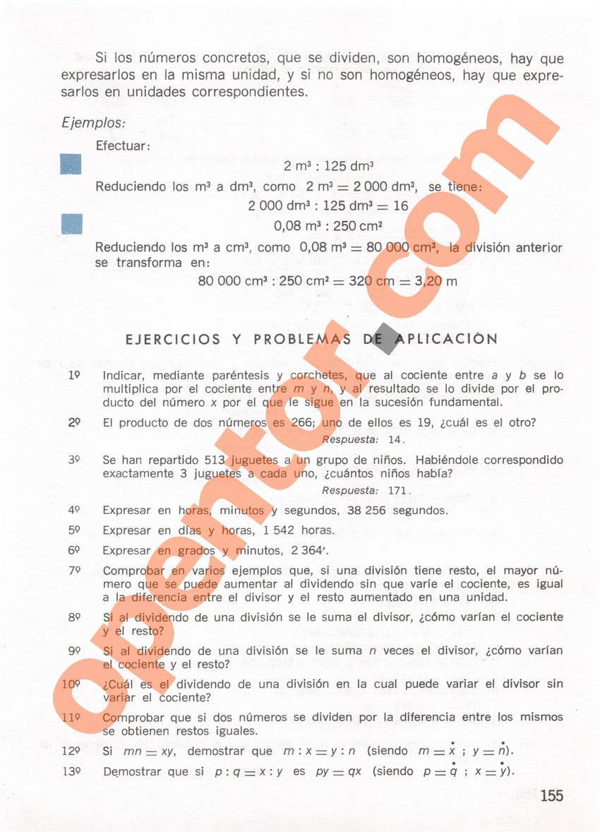 Aritmética de Repetto 1 - Página 155