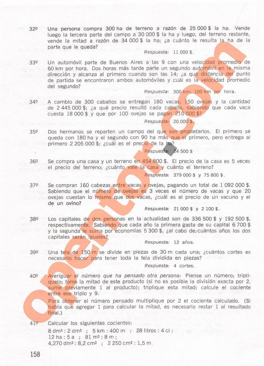 Aritmética de Repetto 1 - Página 158