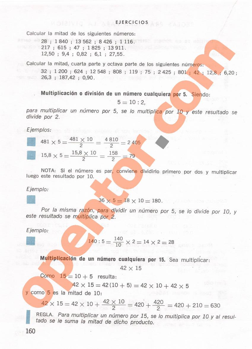 Aritmética de Repetto 1 - Página 160