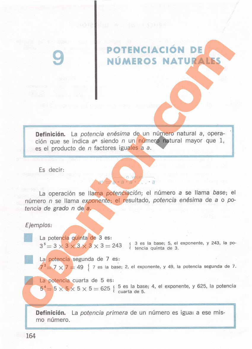 Aritmética de Repetto 1 - Página 164