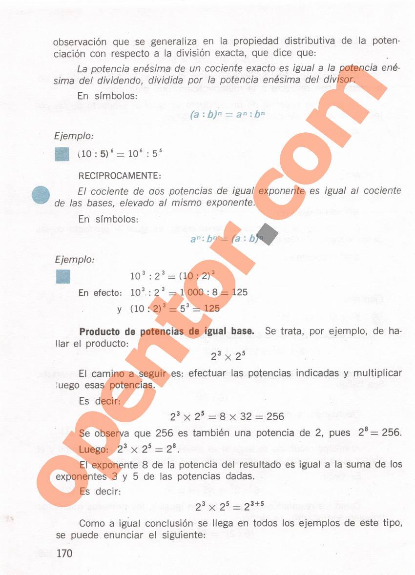 Aritmética de Repetto 1 - Página 170