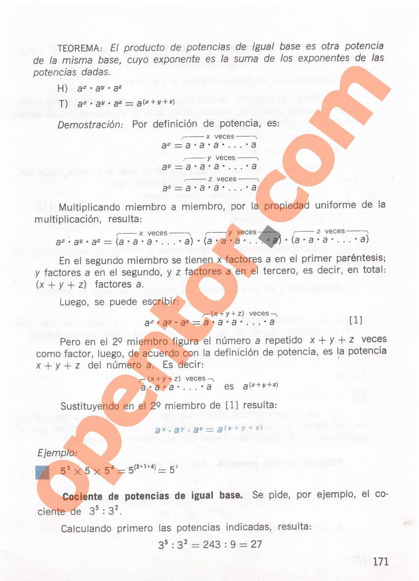 Aritmética de Repetto 1 - Página 171