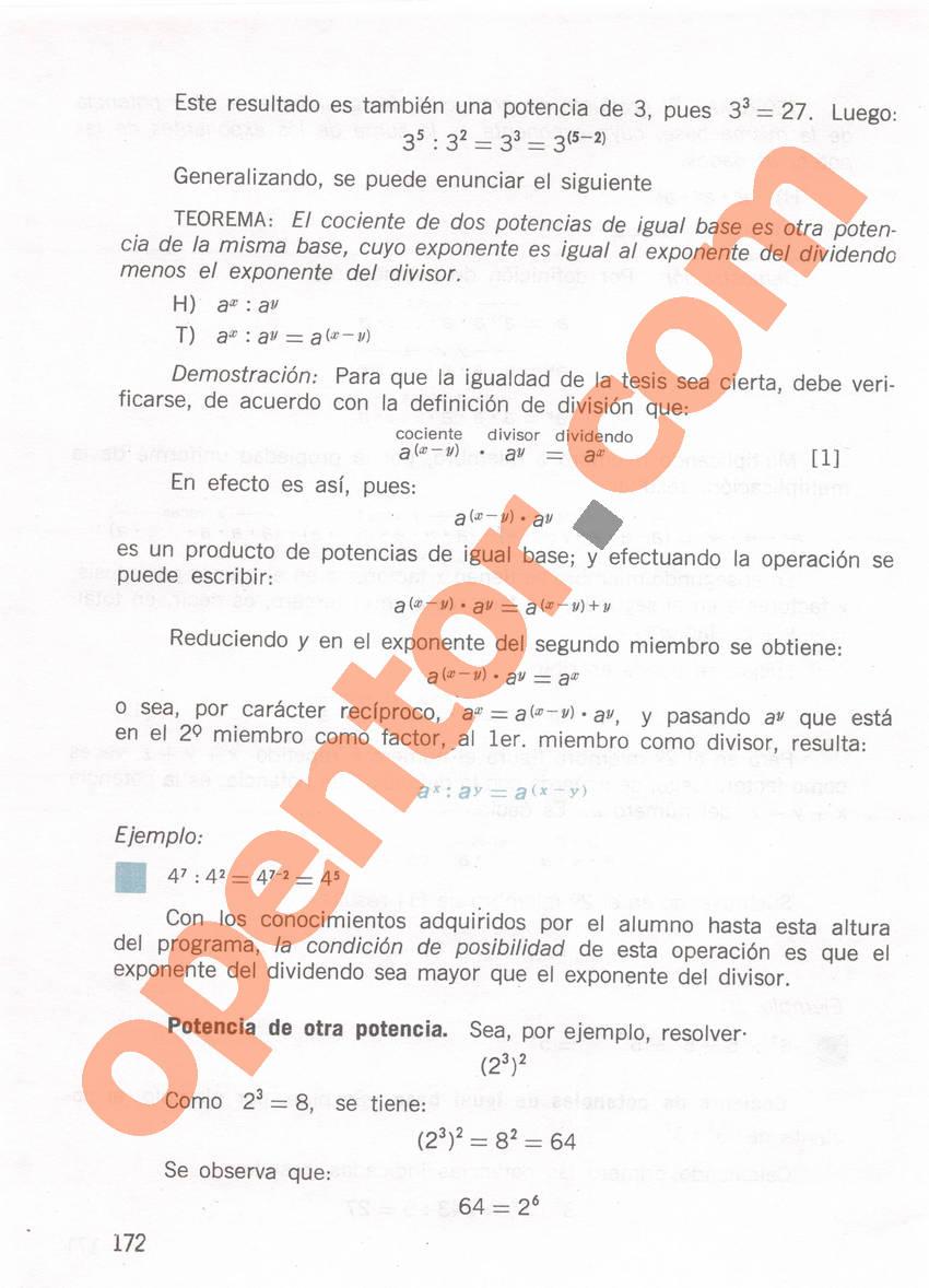 Aritmética de Repetto 1 - Página 172