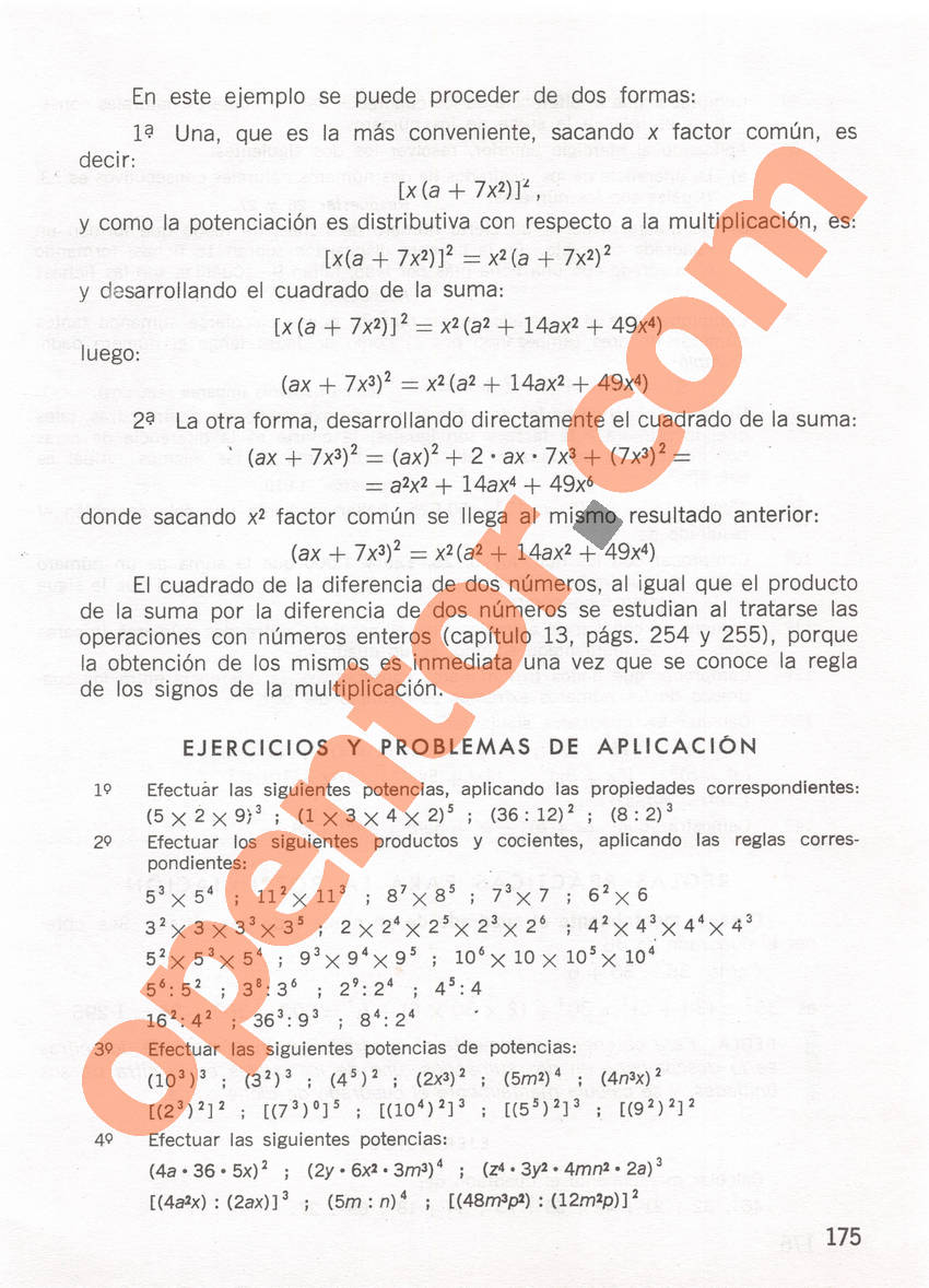 Aritmética de Repetto 1 - Página 175