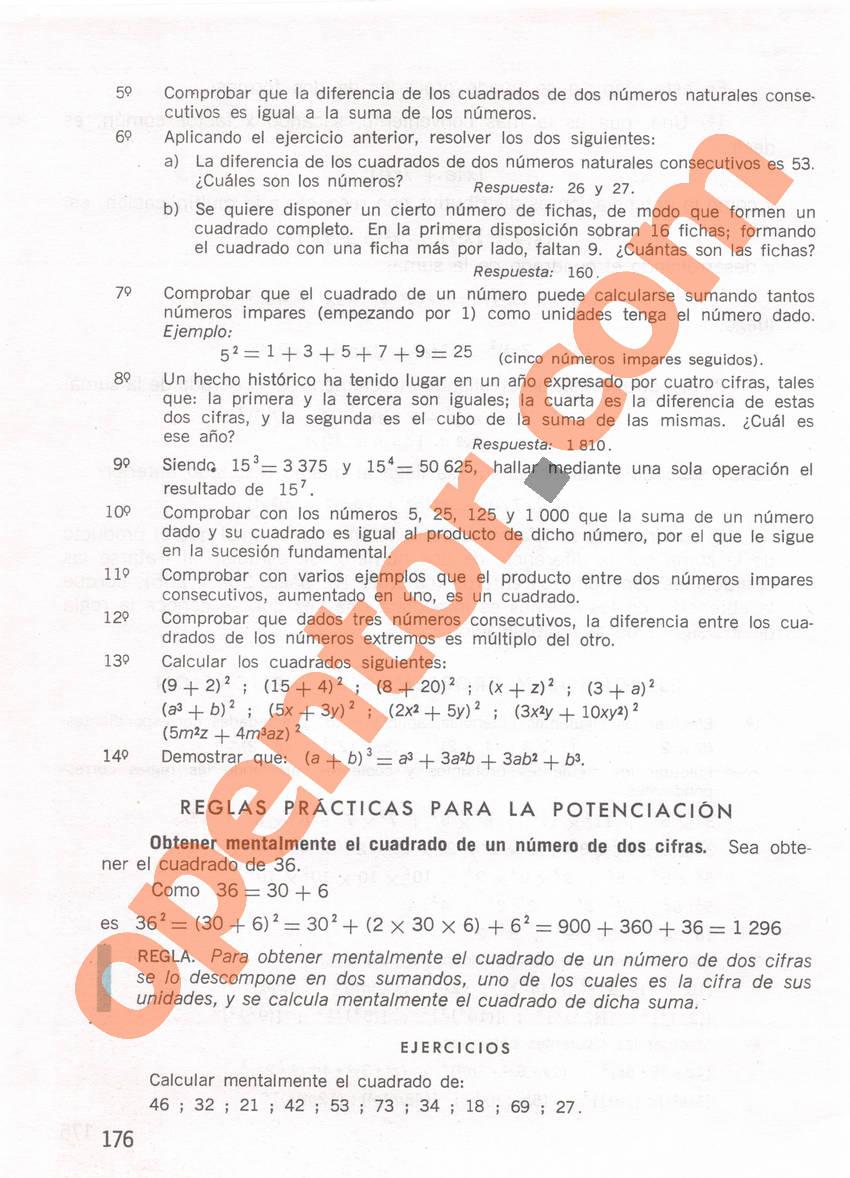 Aritmética de Repetto 1 - Página 176
