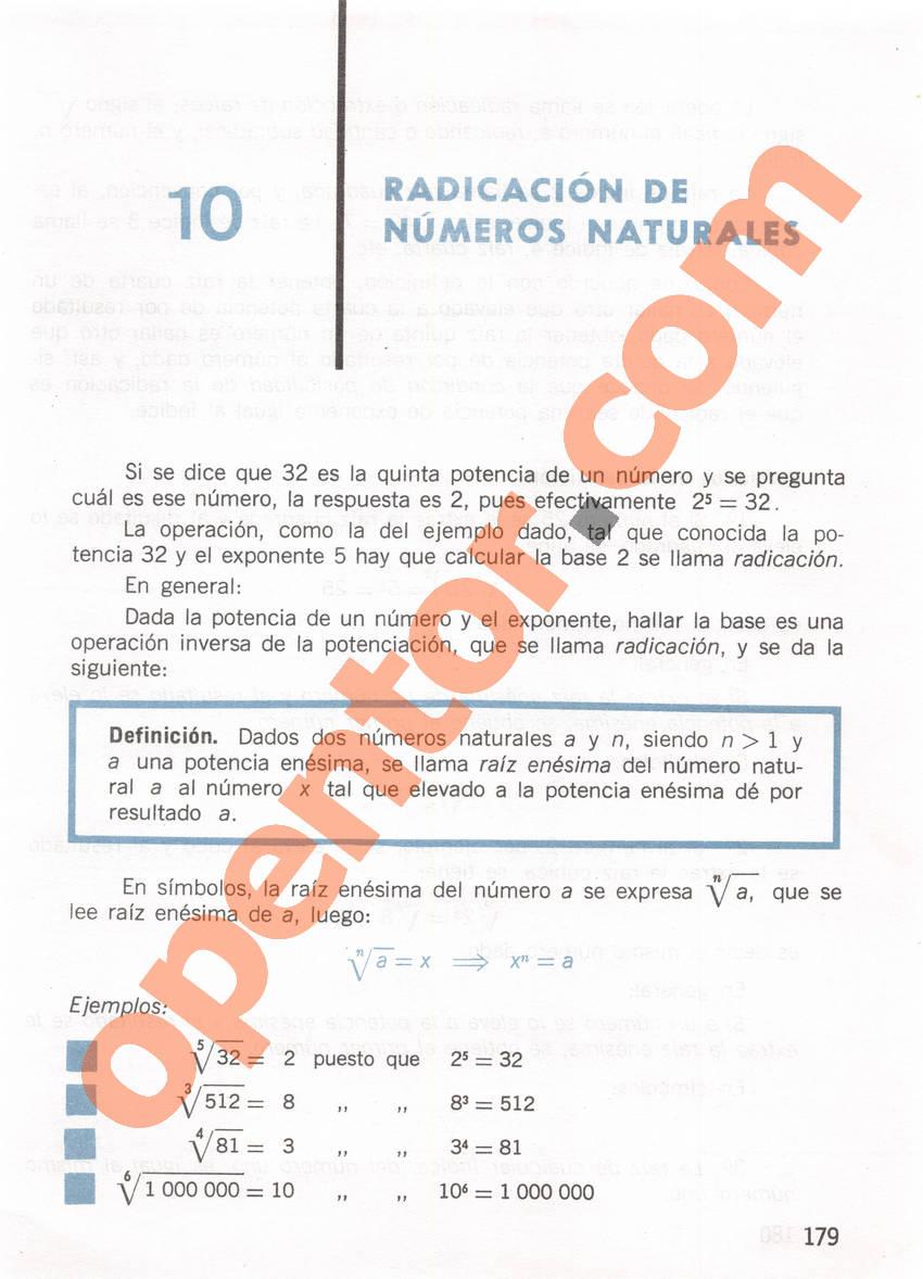 Aritmética de Repetto 1 - Página 179