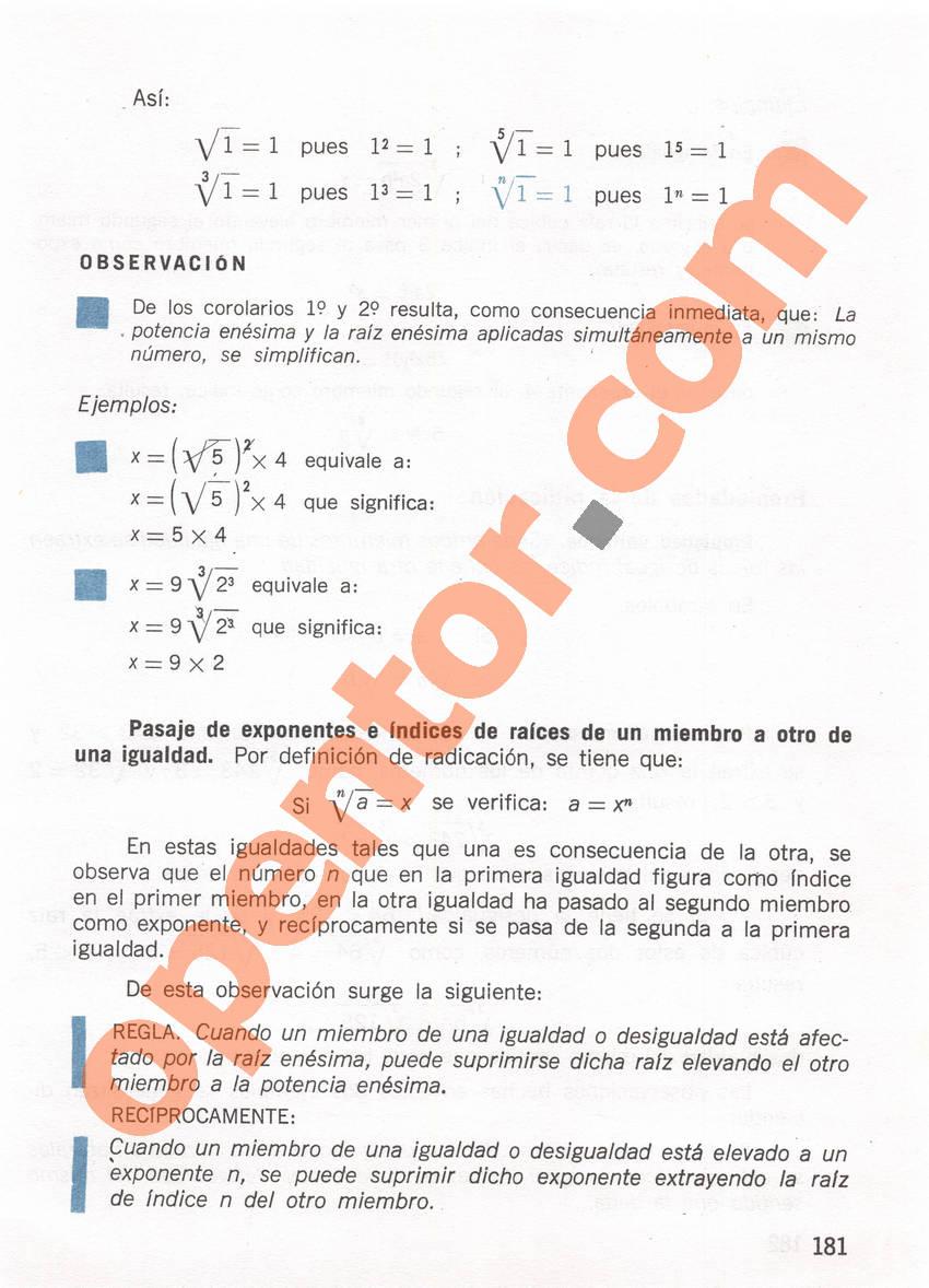 Aritmética de Repetto 1 - Página 181