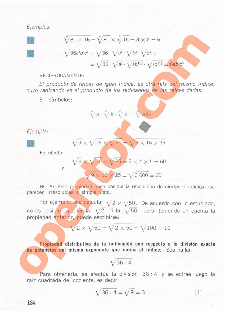 Aritmética de Repetto 1 - Página 184