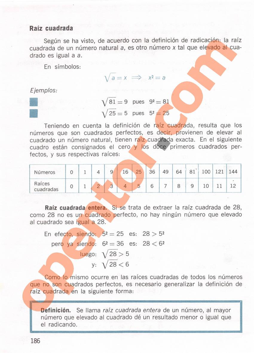 Aritmética de Repetto 1 - Página 186