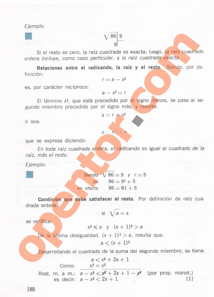 Aritmética de Repetto 1 - Página 188