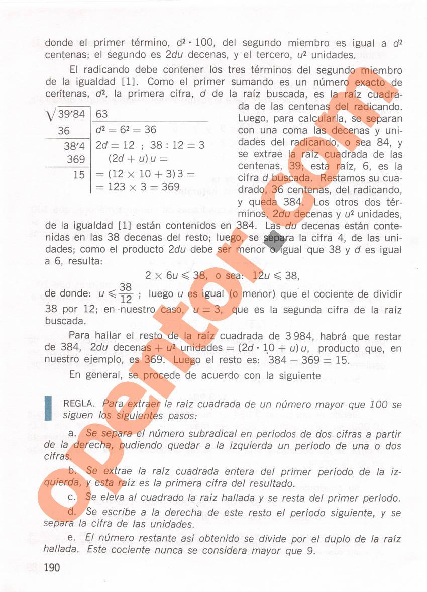 Aritmética de Repetto 1 - Página 190