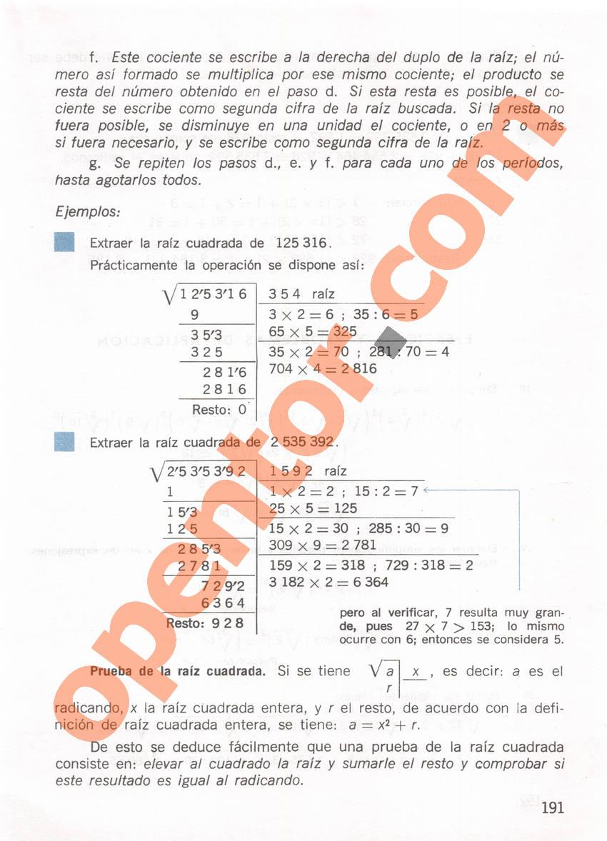 Aritmética de Repetto 1 - Página 191