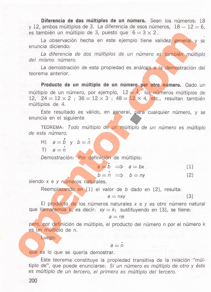 Aritmética de Repetto 1 - Página 200