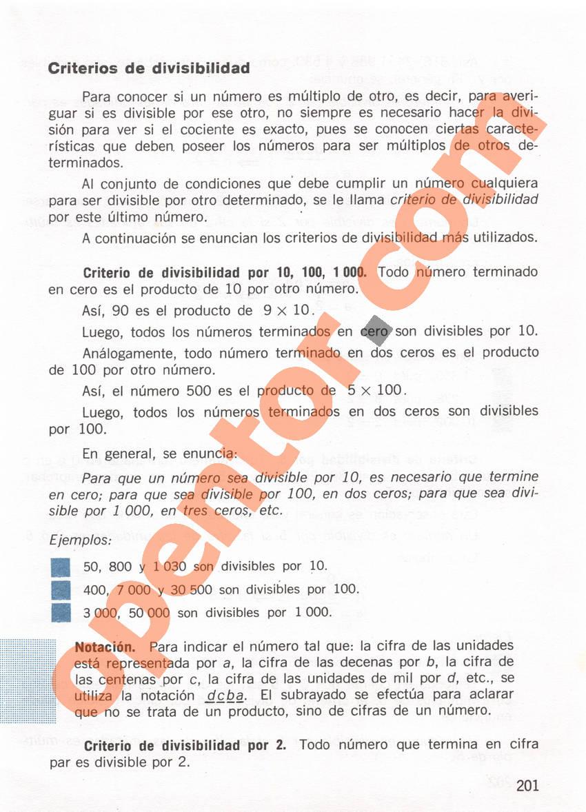 Aritmética de Repetto 1 - Página 201