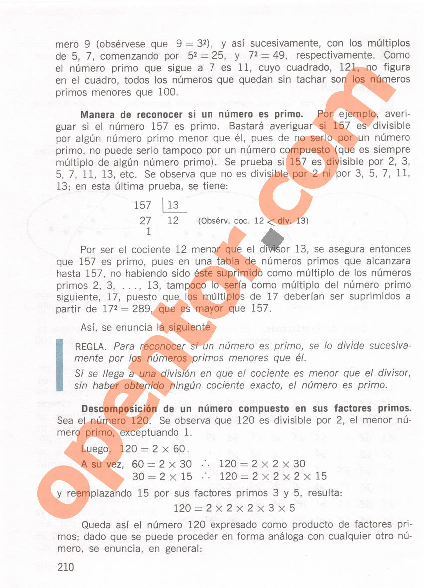 Aritmética de Repetto 1 - Página 210