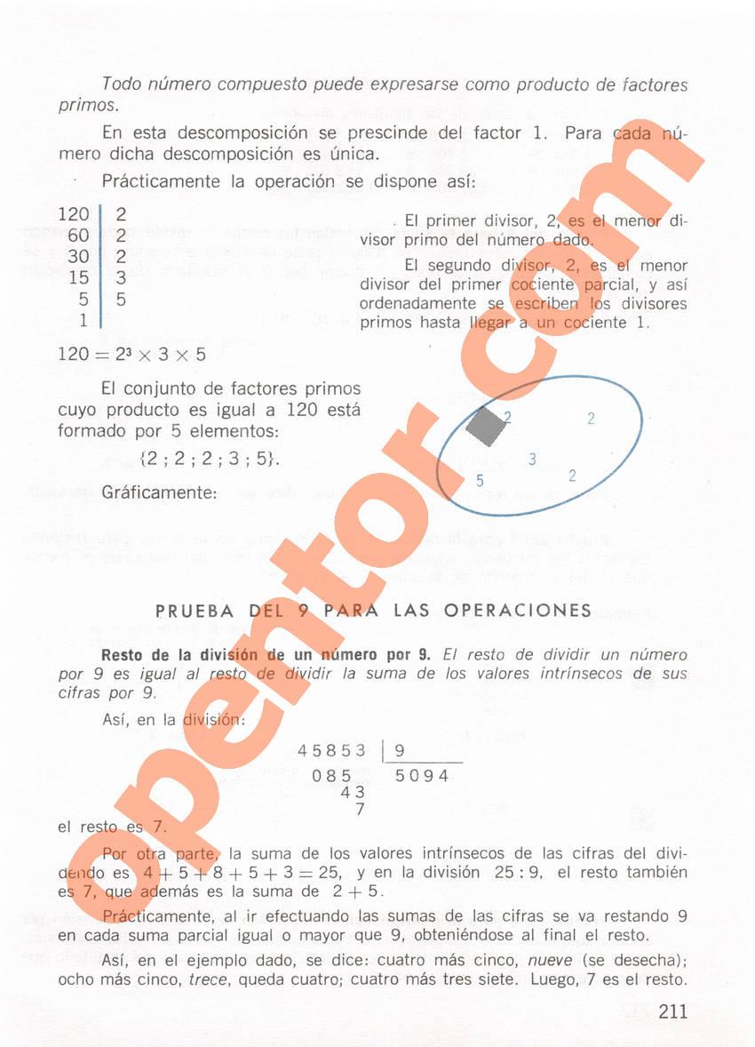 Aritmética de Repetto 1 - Página 211