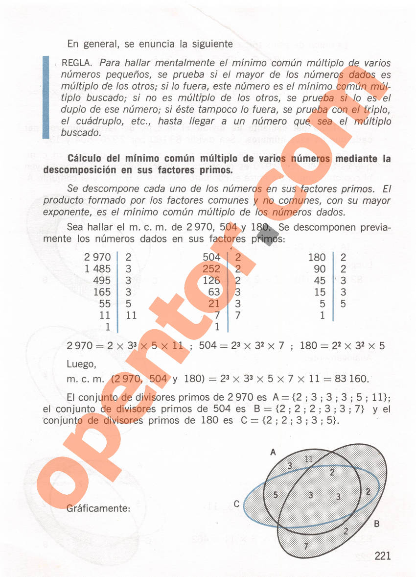 Aritmética de Repetto 1 - Página 221