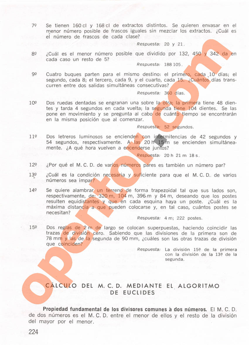 Aritmética de Repetto 1 - Página 224