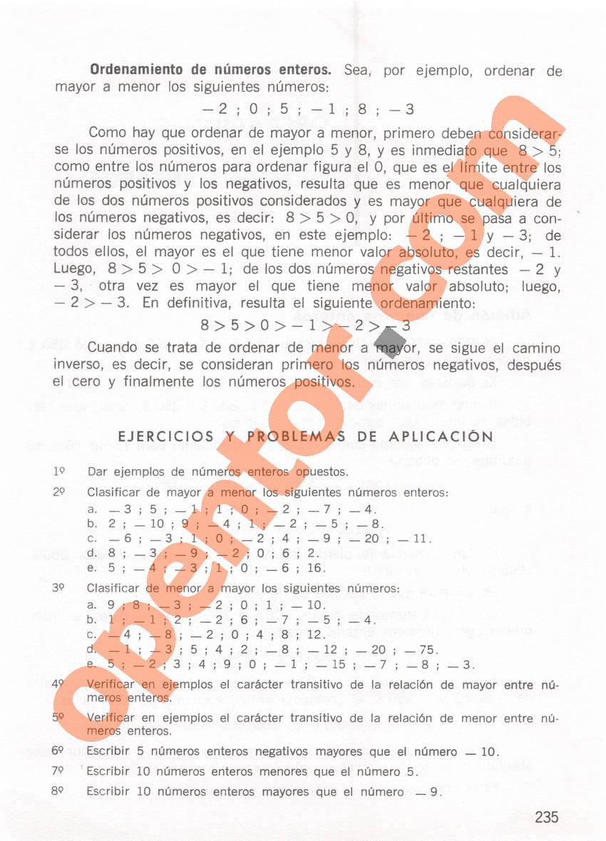 Aritmética de Repetto 1 - Página 235