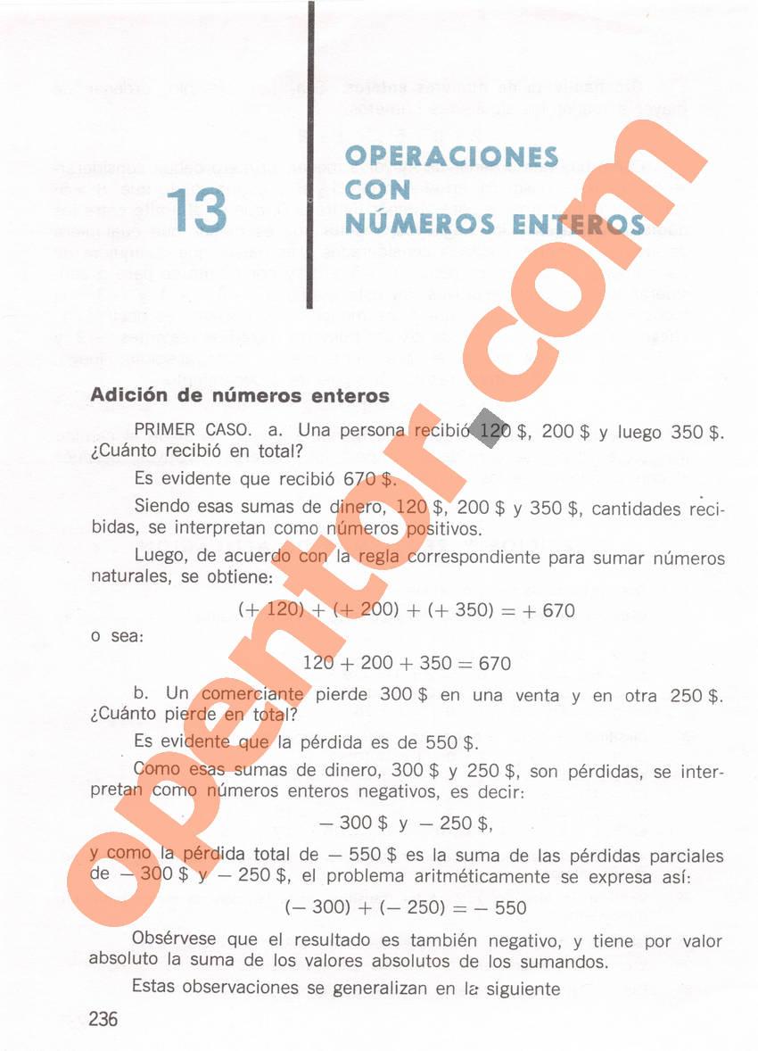 Aritmética de Repetto 1 - Página 236