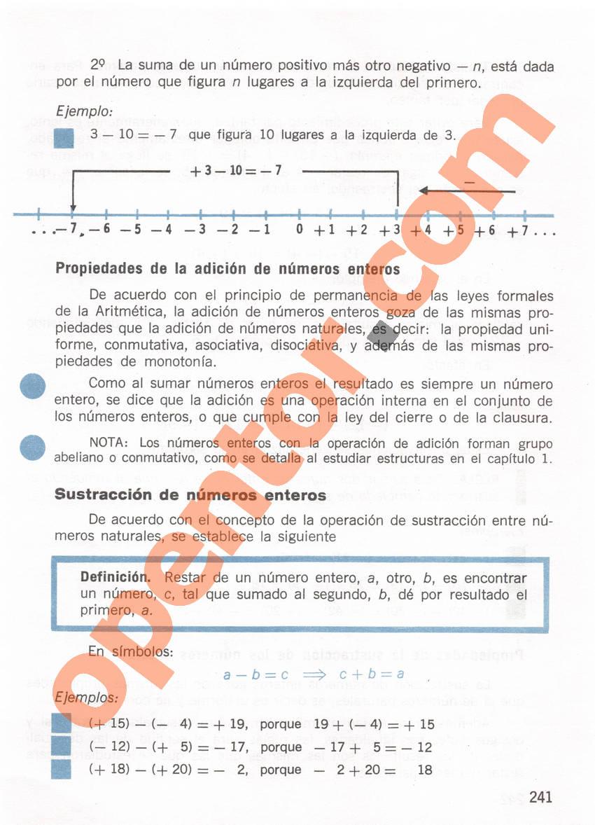 Aritmética de Repetto 1 - Página 241